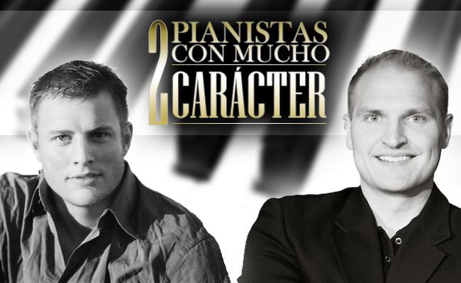 Elijah Bossenbroek y Matthew Mayer, 2 pianistas con mucho carácter