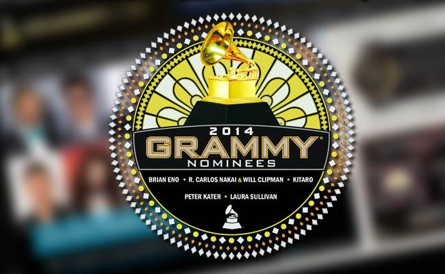Los nominados al Grammy 2014. Este año con algunas sorpresas!.